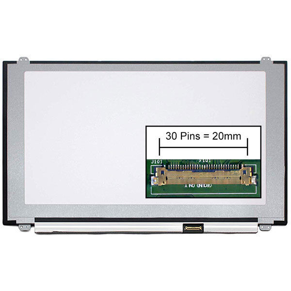 Dalle led lcd screen for clevo nb50tj1 15.6 1920x1080
