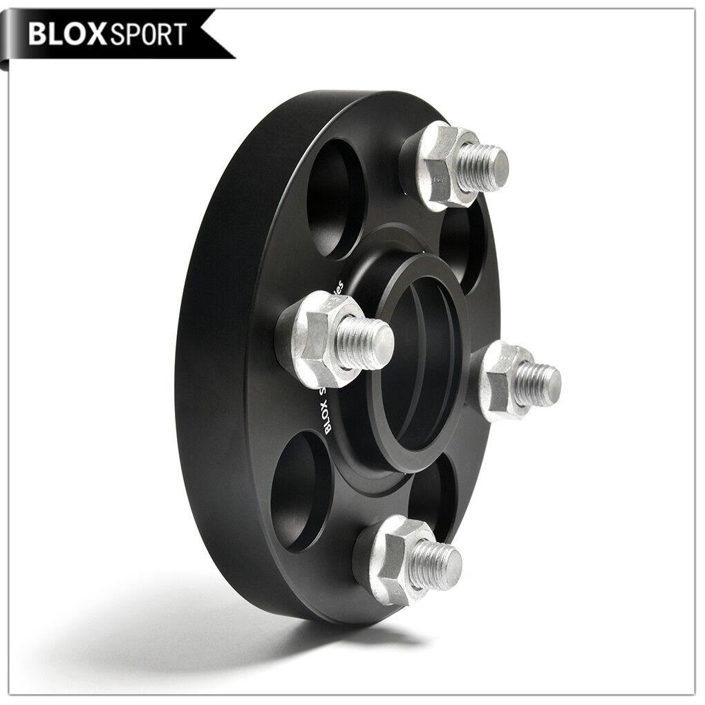 4x30mm Wheel Spacers Adaptors 4X100 54.1 CB 12X1.5 Studs For Miata Corolla MR2
