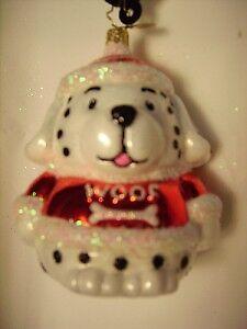 Christopher RADKO /'08 SMOOCH POOCH Dalmation dog love