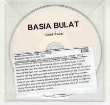 (GO24) Basia Bulat, Gold Rush - 2009 DJ CD