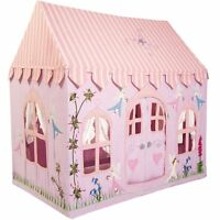 Fabric Pink Princess Fairy Cottage Children Playhouse / Play Tent / Wendy House
