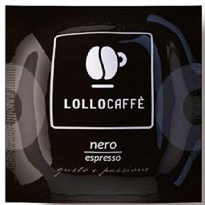 400-cialde-carta-caffe-LOLLO-miscela-NERA-ESE-44-mm-filtrocarta-nero