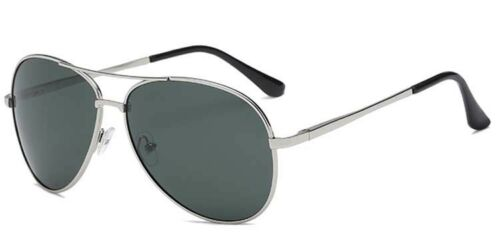 Men Women Pilot Polarized Sunglasses Retro Metal Driving Fishing Glasses Eyewear
