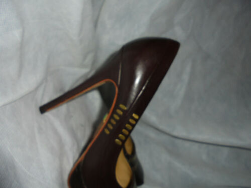 Uk Gwen Size 5 Platform 36 Agnello 3 5 Stefani Heel Shoes Us Pumps 5 Eu Brown 5 4qwpB8