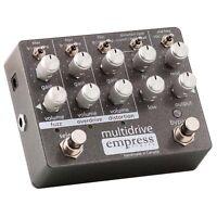 Empress Effects Multidrive Overdrive Distortion Fuzz Guitar Effect Pedal