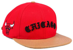 fb6caf75a71 Image is loading Chicago-Bulls-Pro-Standard-NBA-Old-English-Strapback-