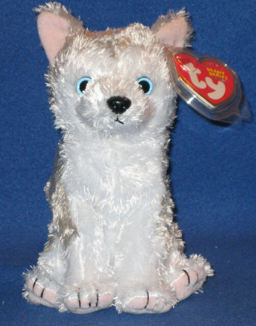 a627245ee4f Ty Beanie Baby Blue-eyed Siberian Husky Dog Juneau MINT With Tag in  Protector
