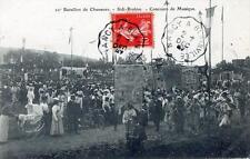 CPA 54 20e BATAILLON DE CHASSEURS SIDI-BRAHIM CONCOURS DE MUSIQUE (BELLE ANIMATI