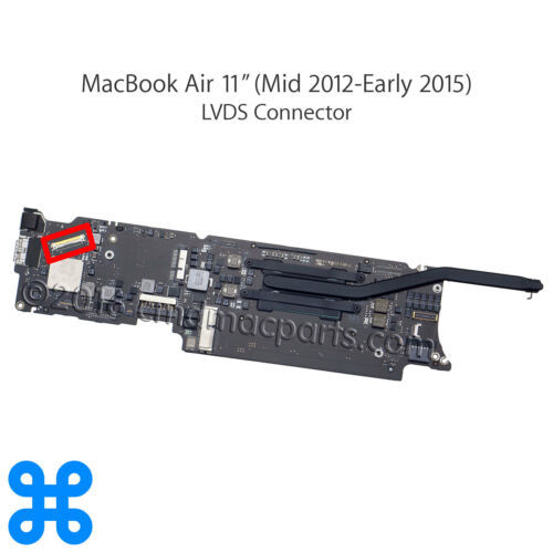 "Apple MacBook Pro Retina 13/"" A1425 A1502 15/"" A1398 LCD LVDS DP CABLE CONNECTOR"