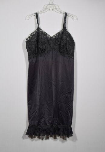 Vintage Faerie Surelock Black Nylon Sheer Lace Mid
