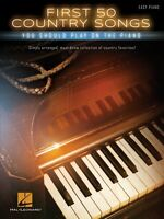 First 50 Country Songs You Should Play On The Piano Sheet Music Easy 000150166