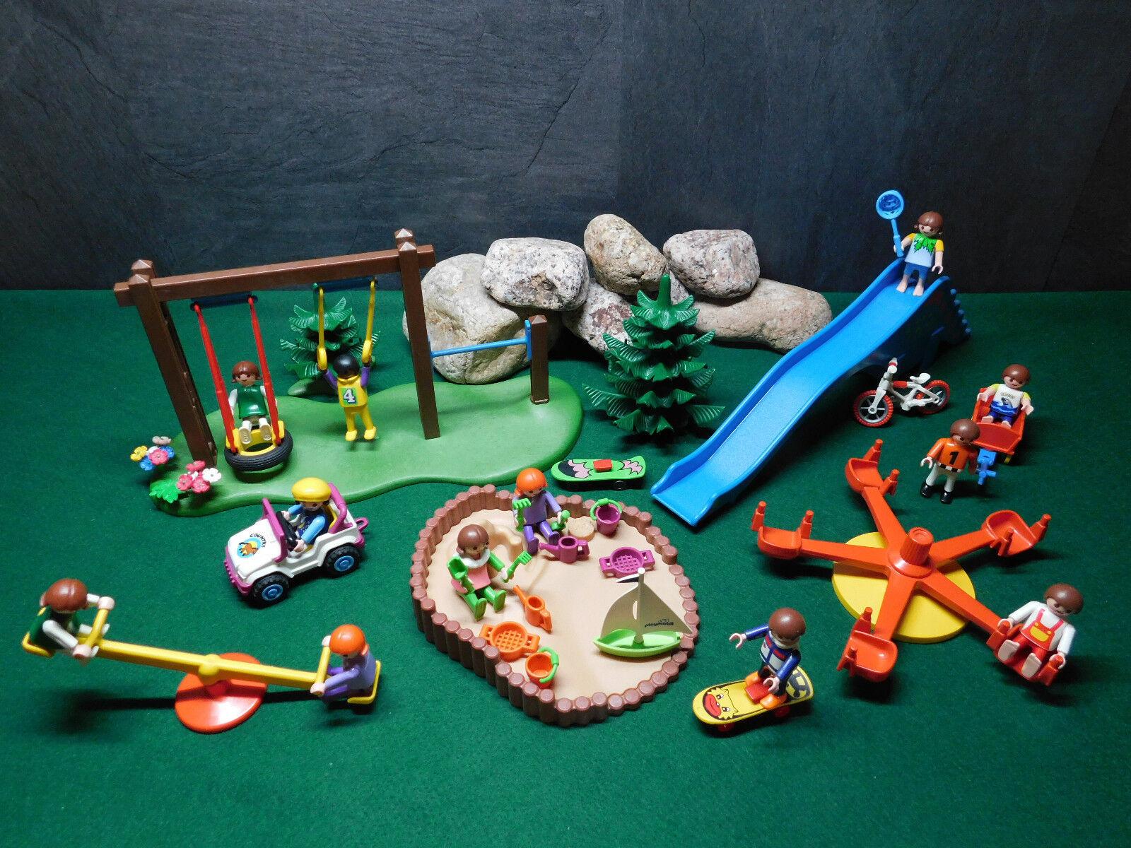 Playmobil Spielplatz mit viel Zubehör, ohne OVP