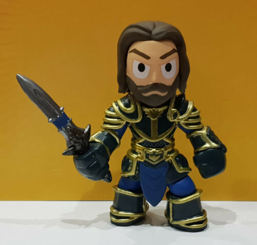 Funko Mystery Minis Warcraft Lothar with armor PERSONAGGIO IN VINILE 1//12