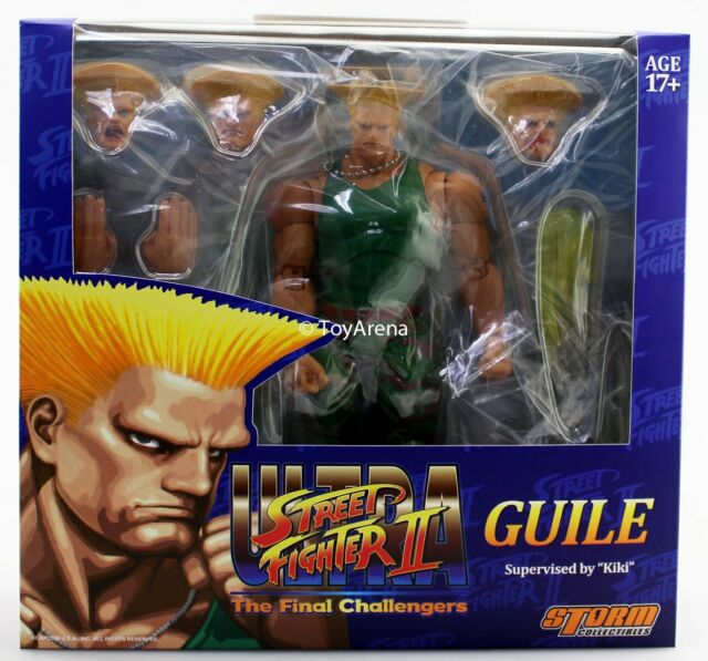 2019 Storm Collectibles Toys Street Fighter Guile 1 12 Action Figure Mib Games For Sale Online Ebay