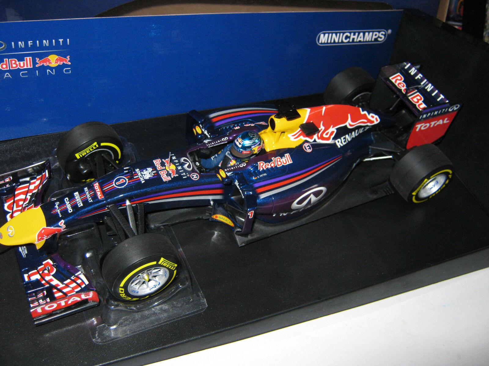 1 18 rot BULL RACING RB10 2014 S. Vettel MINICHAMPS 110140001  Neu OVP  | Deutschland Berlin