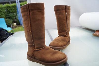 Bench Boots Stiefel 38 Damen Gefüttert WildlederEbay Gr Mädchen Braun Winter Schuhe 80NymwPvnO