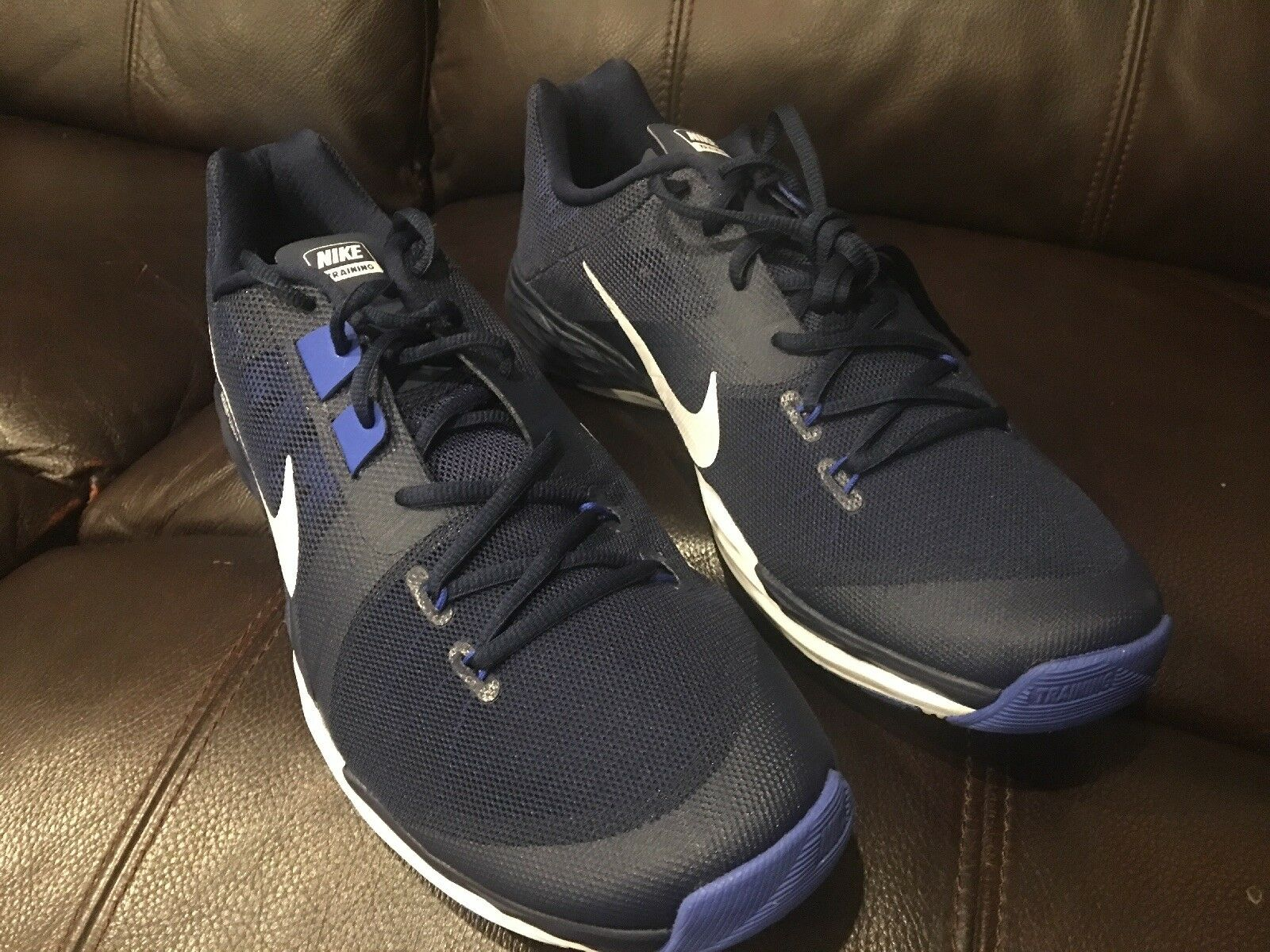 Authentic Nike Train Prime Iron DF bluee US 12 Men Sneakers 832219 With Box