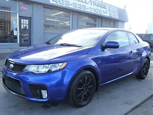 2013 Kia Forte SX|LEATHER|SUNROOF|BLUETOOTH|2ND SET OF WHEELS