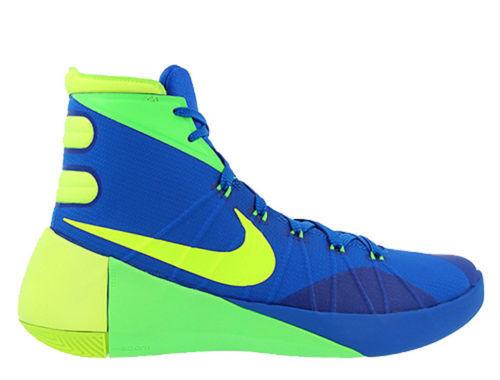 Nike Nike Nike Hyperdunk para Hombre UE 42.5 Azul & Green Hi Top Entrenadores de Baloncesto 749561 dfa8cd