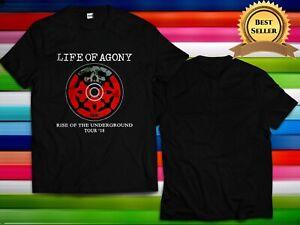 New Life Of Agony - Rise of The Underground tour Logo Gildan T shirt S-2XL