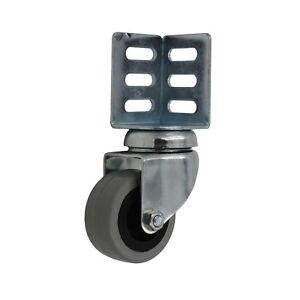 apparaterolle 50 mm eckplatte mit winkel regale lenkrollen transportrollen rad 4260404129196. Black Bedroom Furniture Sets. Home Design Ideas