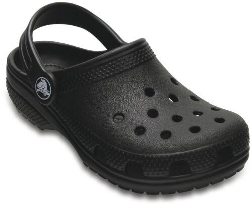 crocs Classic Clog Kids Schwarz Croslite Normal