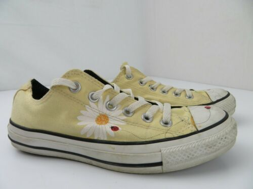 Converse All Star Ladybugs & Daisies Yellow Low Wo