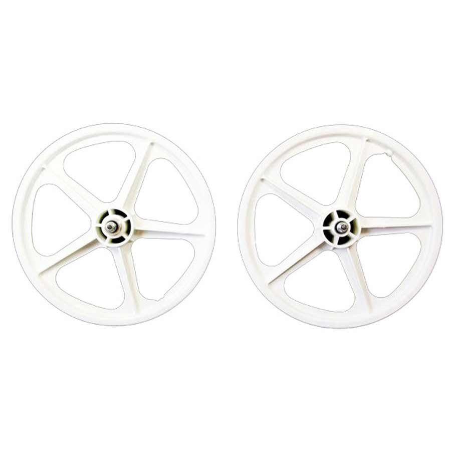 Skyway Tuff II wheel set 16X1.75  3 8  nutted FW 5 Spk Wh