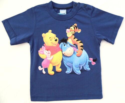 NEU! Disney Winnie the Pooh und Freunde T-Shirt Shirt Pulli Baumwolle 80 86 92