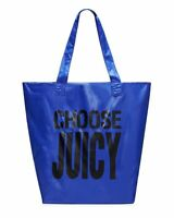 Juicy Couture Nylon Fold Up Tote Bag Shopper - Avery Blue -