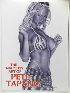 Kunst-Buch-The-naughty-Art-of-Pete-Tapang-US-Kunst-Premiere-NEU