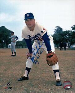 Jim-Lefebvre-Signed-8X10-Photo-034-ROY-65-NL-034-Autograph-Dodgers-Color-Auto-w-COA