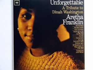 Unforgettable: A Tribute To Dinah Washington - Aretha Franklin (CD)