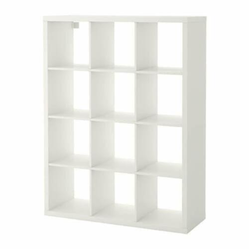 IKEA Kallax Scaffale Bianco Biblioteca Scaffale-Documenti Divisorio Mensola