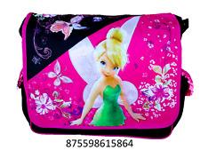 "Disney Tinker Bell Fairy 15"" Messenger Tote Shoulder Diaper Book Bag -5864"