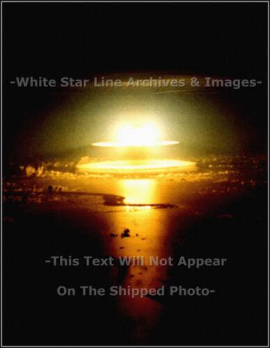 June 10 Operation Dominic Atomic Bomb /'Yeso/' Detonates Photo 1962