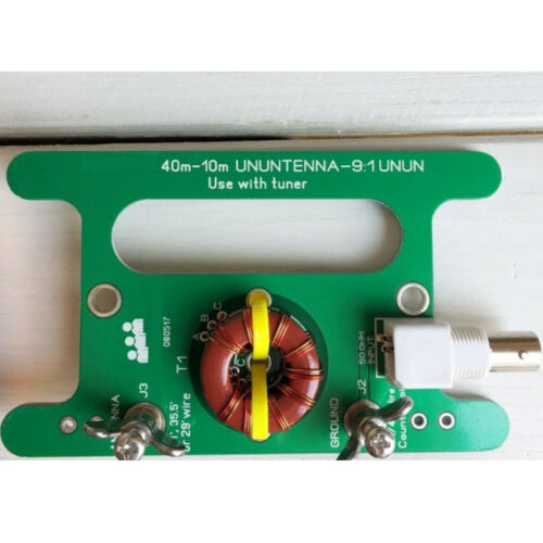 Long Wire HF Antenna RTL-SDR Low-Cost 9:1 Antenna Balun RTL-SDR