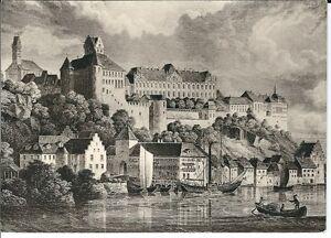 Ansichtskarte-Meersburg-am-Bodensee-034-Altes-Schloss-034-schwarz-weiss