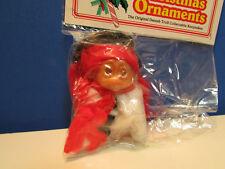 "CHRISTMAS REINDEER ORNAMENT NEW IN BAG 3/"" Dam Norfin Rare LAST ONES"