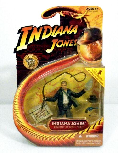 Indiana Jones Kingdom of the Crystal Skull Action Figure Hasbro with Clear Skull