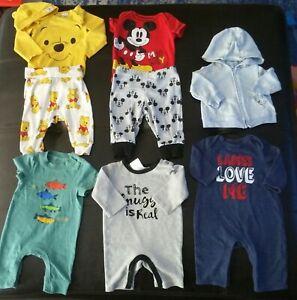 Huge Lot 45 Pc Summer Baby Boy Clothes Newborn 0 3 Months 3 M Good To Excellent Ebay