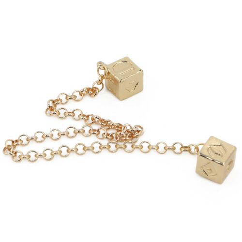 Han Solo Cosplay Catena Cubo Da Uomo Fortunato Dadi Costumi ciondoli gioielli da collezione