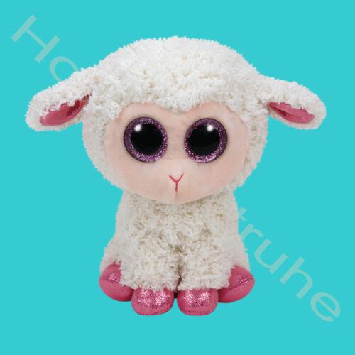 Ty Beanie Boos 15cm Glubschie Glubschi Twinkle Lamm mit Glubschaugen