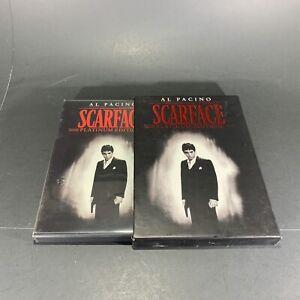 SCARFACE-DVD-2-Disc-Set-Platinum-Edition-Al-Pacino-1983-Crime-Drama-Violent