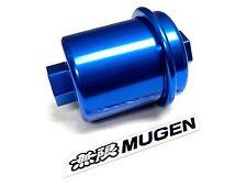 Blue Racing High Flow Washable Fuel Filter For 96 00 Honda Civic Ek Jdm Emblem D