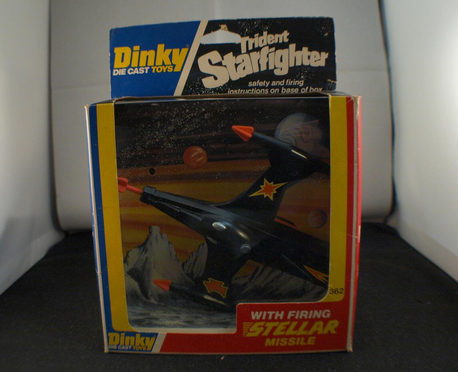 Dinky Toys GB 362 avion Trident starfighter with stellar missile neuf  MIB RARE
