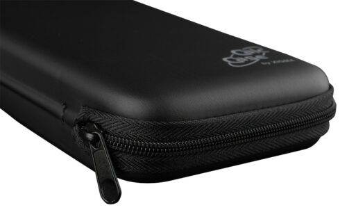 schwarz Schutztasche für Schulrechner Casio FX85 DE Plus CalcCase Tiny