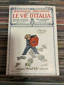 LE-VIE-D-039-ITALIA-SETTEMBRE-1923-TOURING-CLUB-ITALIANO