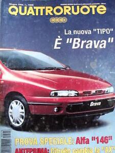 Quattroruote 476 1995 Prova speciale ALFA 146 - Fiat VA - Fiat ... on fiat barchetta, fiat bravo, fiat 500 abarth, fiat coupe, fiat linea, fiat x1/9, fiat cinquecento, fiat marea, fiat doblo, fiat spider, fiat 500l, fiat ritmo, fiat panda, fiat 500 turbo, fiat stilo, fiat multipla, fiat seicento, fiat cars,