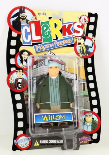 Rare Clerks Inaction Figure Mall Rats Series 2 Willam Ethan Suplee